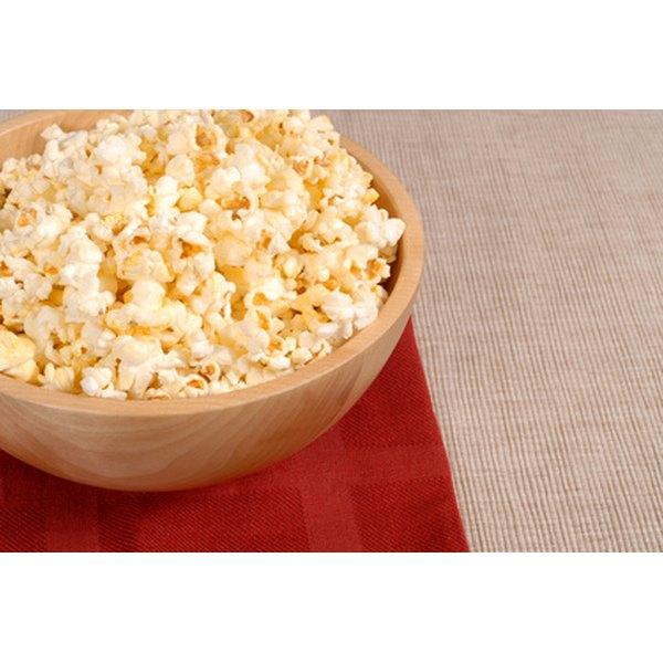 Popcorn tastes best when it isn't burned.