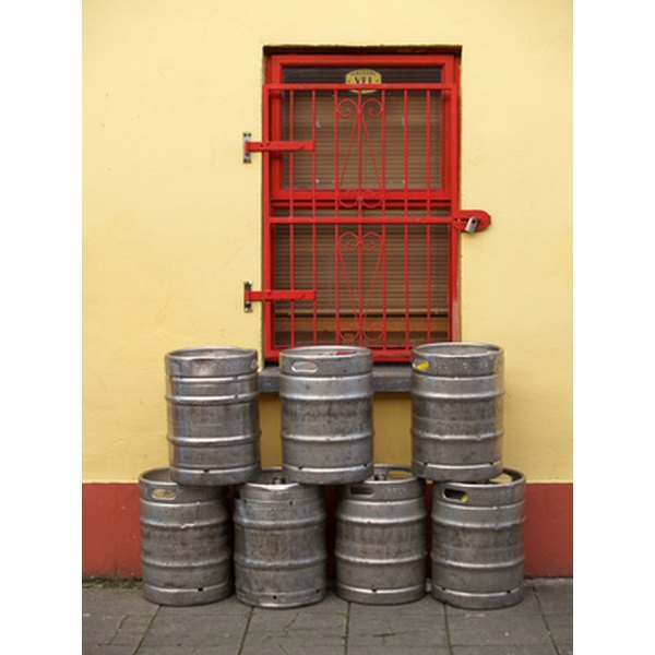 A homemade keg dispenser gives you fresh from the tap taste, beer after beer.