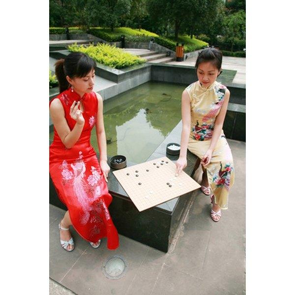 The ch'i-p'ao is a popular modern garment