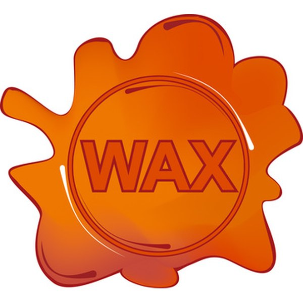 Wax, used for hair removal, sticks to the skin