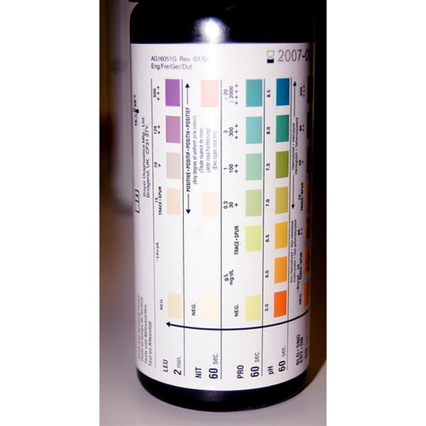Ketosis test strips may test for ketones only or for a number of different elements in urine.