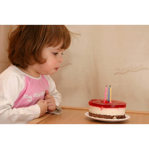 Candles on a cake are an integral part of modern Western birthday celebrations.
