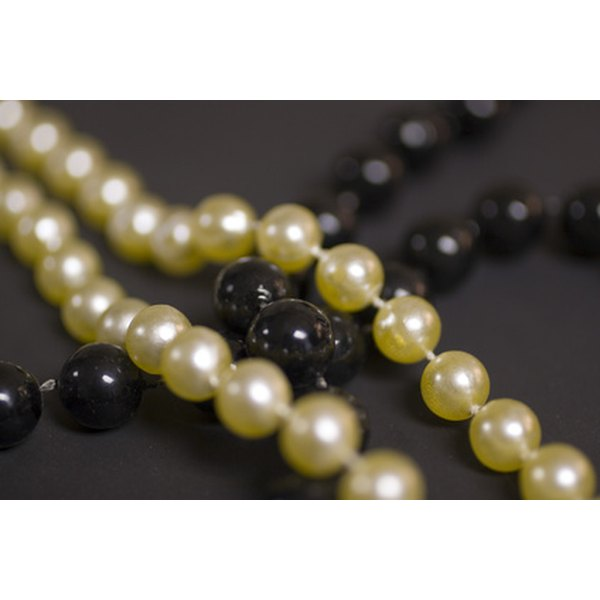Pearls are most valuable when naturally occurring in hues of black, silver, pink, cream and white.