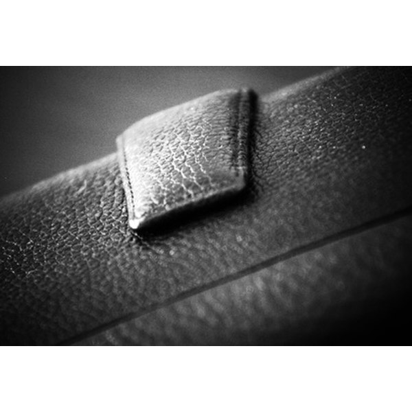 Rivets can add interest to leather.