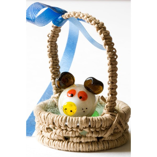 Baskets can be used to present gifts for a variety of occasions.