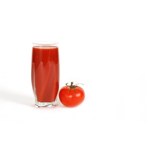 Tomato juice can help to eliminate odors, including the residual smell of perming chemicals.