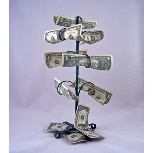 a money tree is a nice way to help out a bride and groom