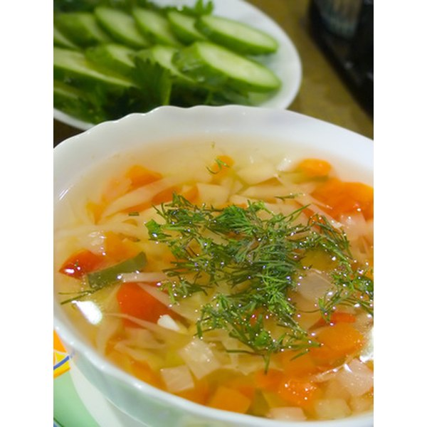 If your soup is a little acidic, some sweetness will cut the acidity and add flavor.