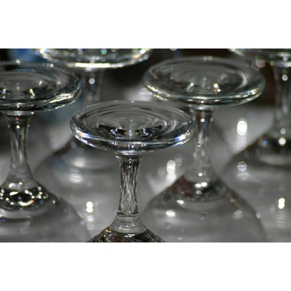 You can customize and decorate wine glasses with a small budget.