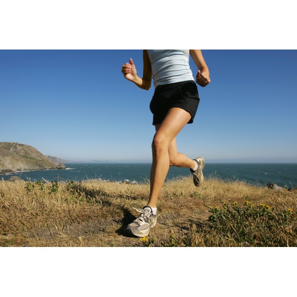Running is one of many exercises you can perform to burn calories.
