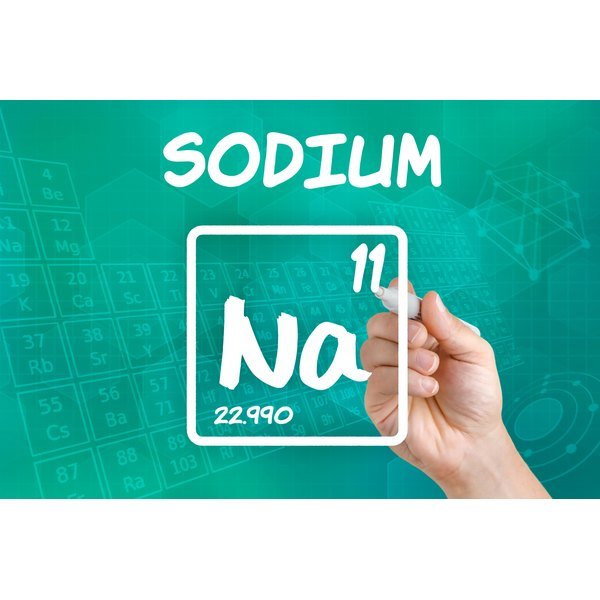 The tolerable upper intake of sodium per day is 2,300 milligrams.