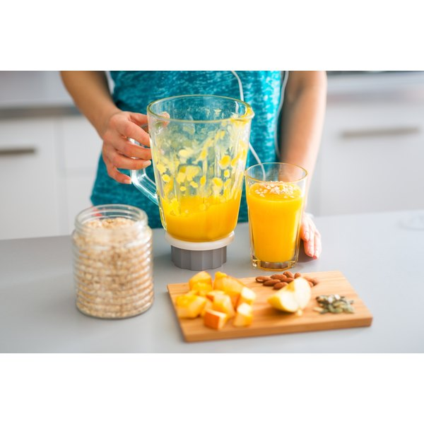 Make your juices with a blender to preserve the full dietary fiber content of your fruits and vegetables.
