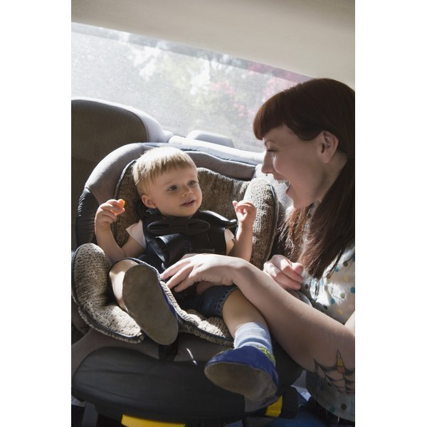 There are several ways to keep your child's car seat dry while potty training.