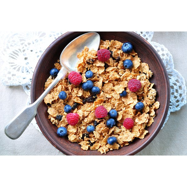 Many breakfast cereals contain wheat.