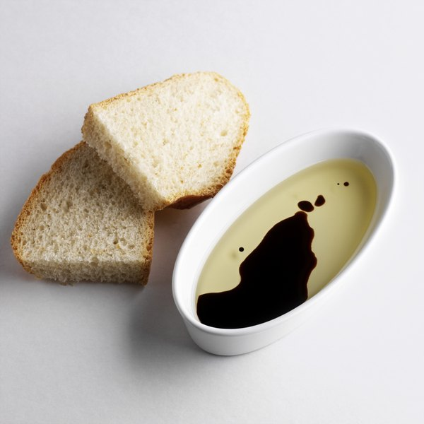Balsamic vinegar has a rich sweet-and-sour flavor.