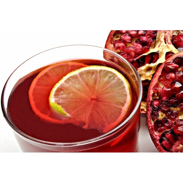 Pomegranate juice may interfere with certain prescription drugs.