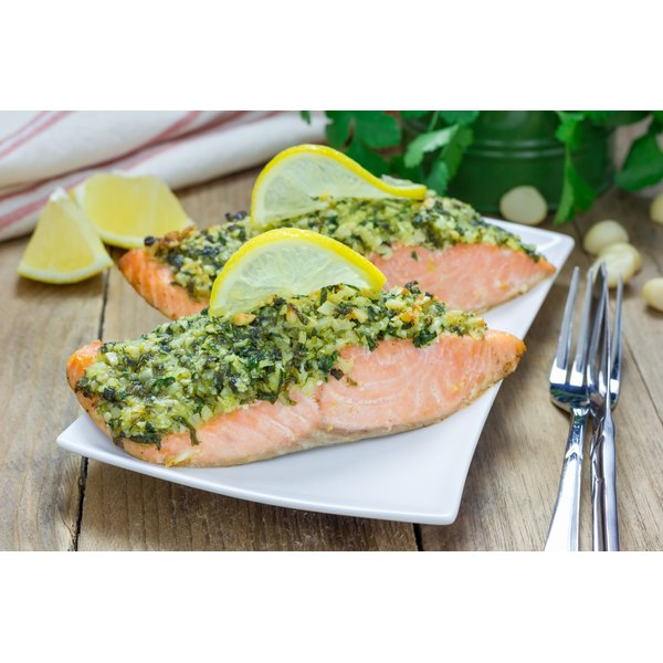 Paleo foods contain healthy fats that can be found in salmon and other foods.
