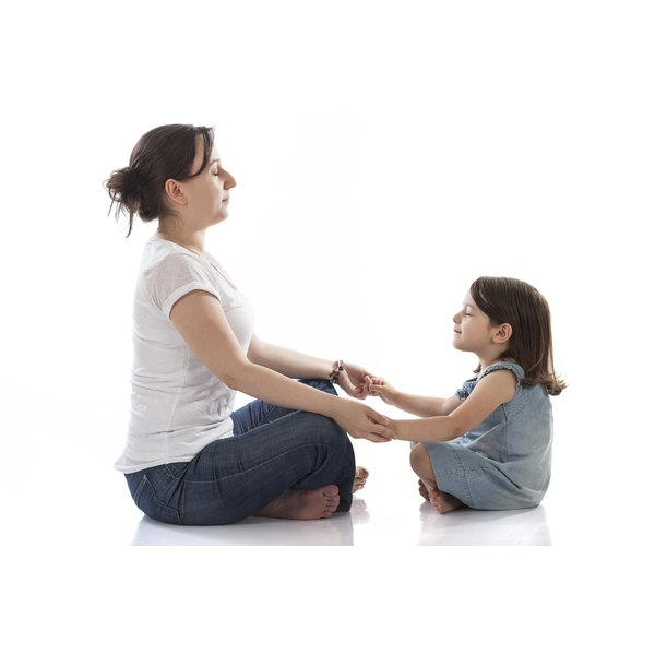 Use visualizations to help your child learn poses.