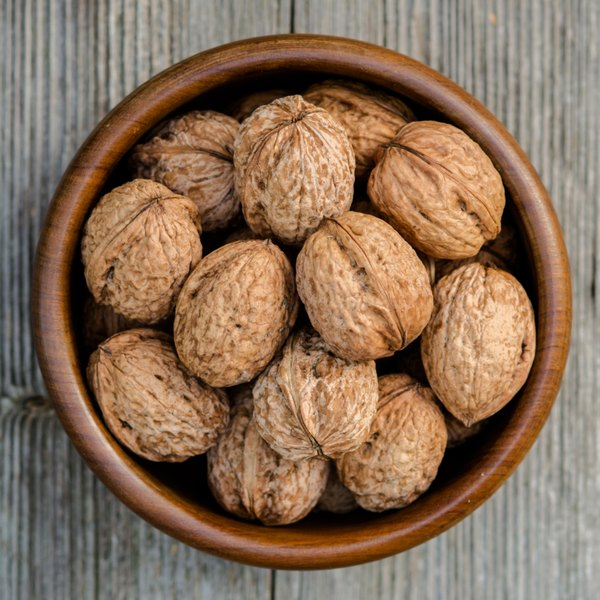 Nuts are a high calorie, low purine food choice.