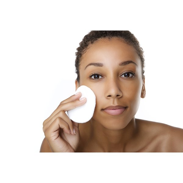 Balance astringents with exfoliation, cleansers and moisturizers.