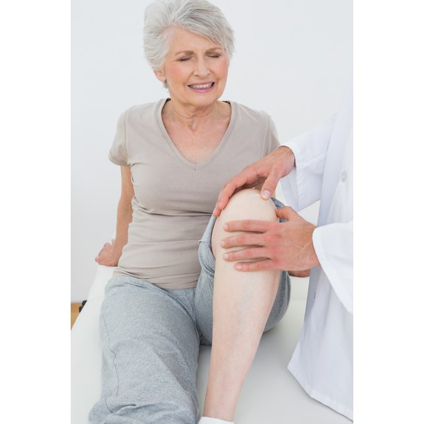 Joint stiffness is more common in older women but can affect older men.