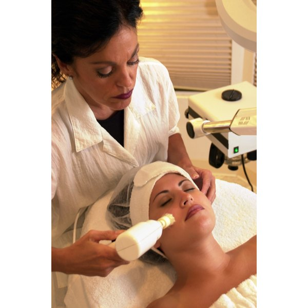 Microdermabrasion  can be done on the face, arms and legs to reveal smoother skin.