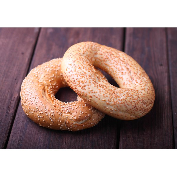 Bagels rank on the high end of the glycemic index.
