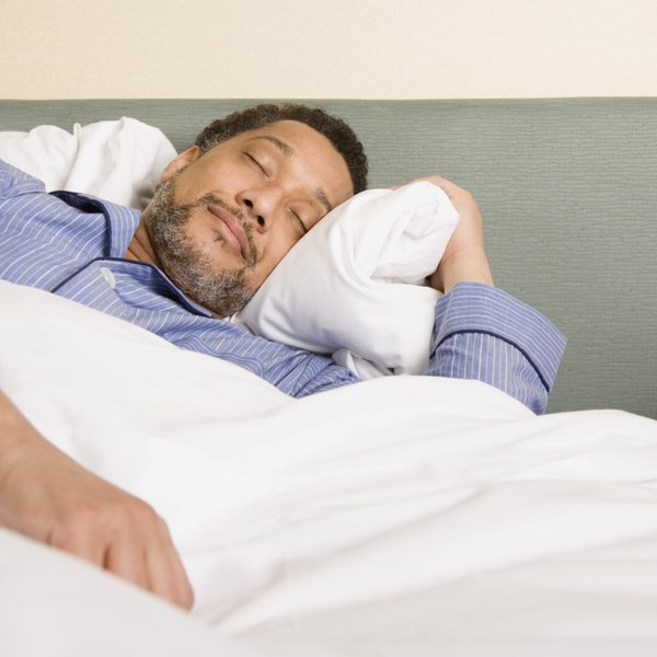 Restless legs syndrome makes it difficult to fall asleep.