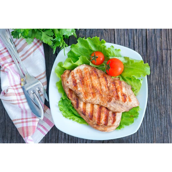 Grilled chicken breast is popular in tortilla wraps.
