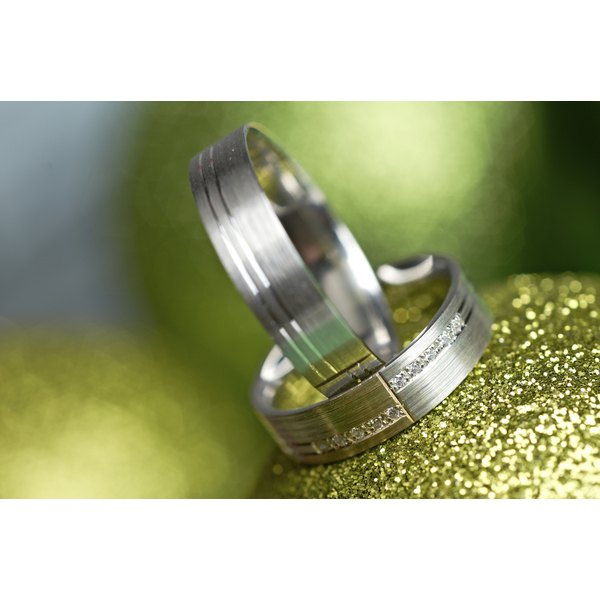Titanium is one of the earth's most common elements, making it an affordable choice for a ring.