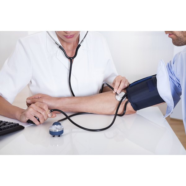 Blood pressure medication can help regulate your blood pressure.