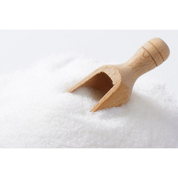 Granulated sugar is often used to sweeten other foods.