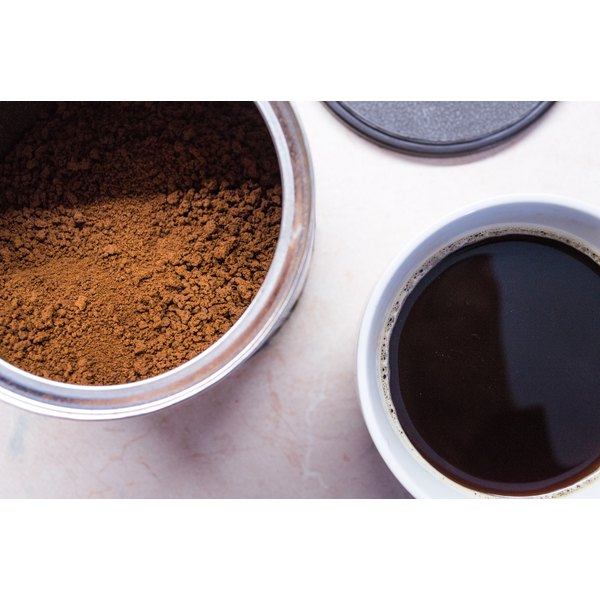 Instant coffee comes packed with antioxidants.