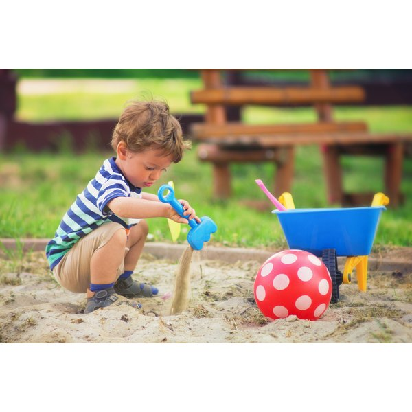 Most toddlers could spend hours playing in a sandbox.