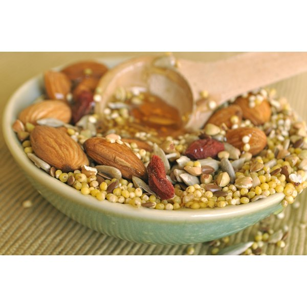 Vitamins and minerals found in nuts and seeds promote a healthy liver.
