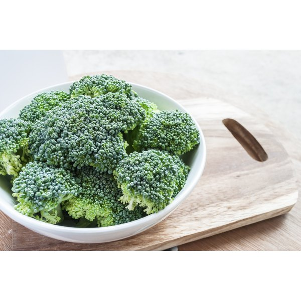 Broccoli is a rich source of vitamin B5.
