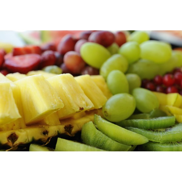 A fruit dish for party foods.