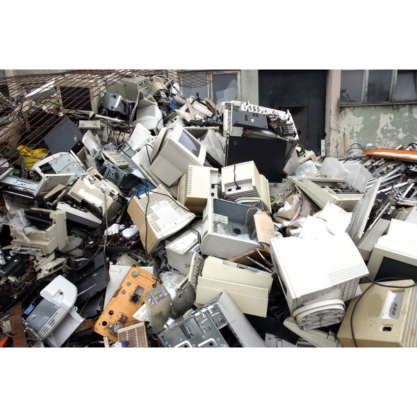 Improper disposal of computers can cause human and environmental health hazards.
