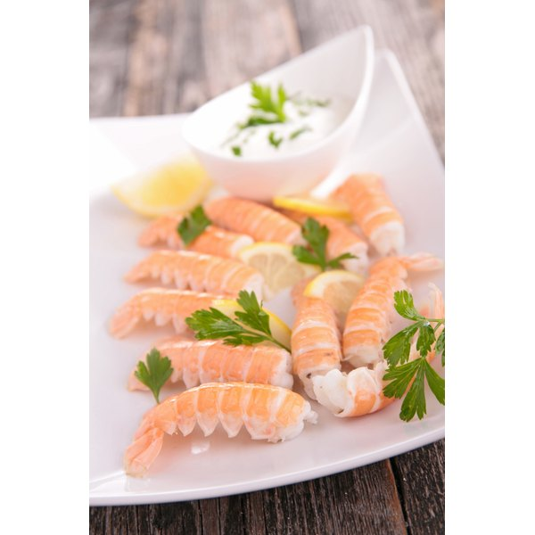 The tails of langoustines can be served with just a squeeze of lemon.