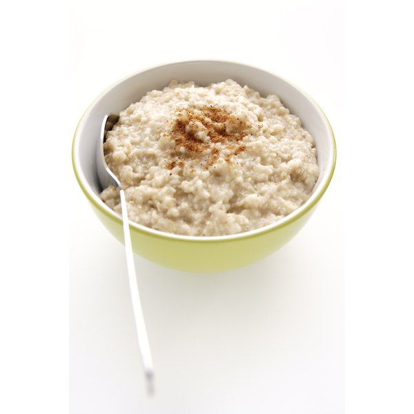 Keep it simple with a hot bowl of oats.