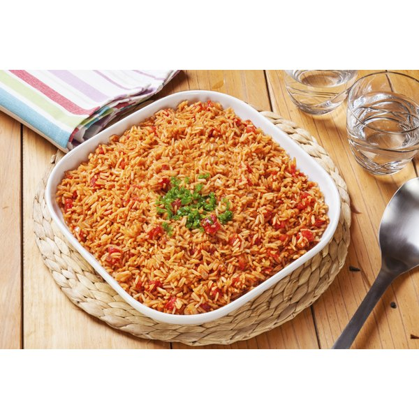 Make Spanish rice for a spicy side dish.