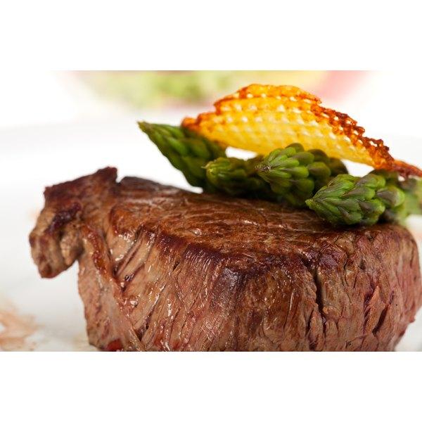 A grilled beefsteak.