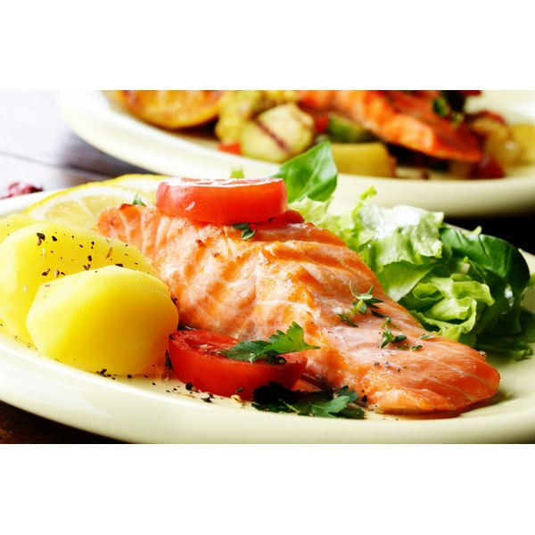 Grilled salmon is an excellent source of omega-3 fatty acids