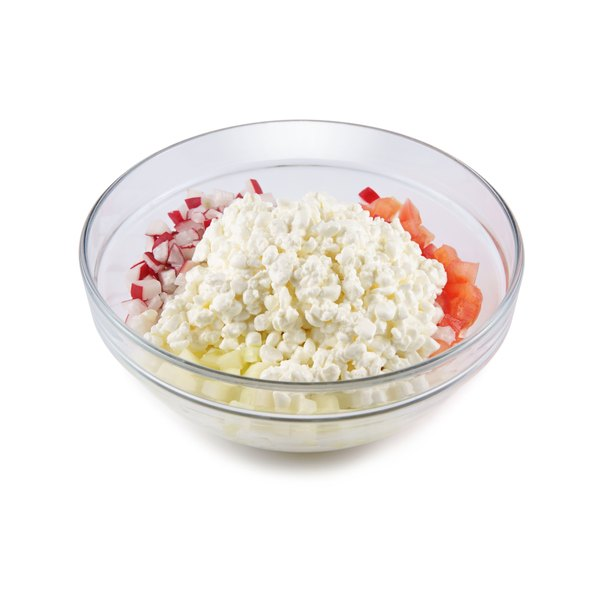 Cottage cheese can be paired with a variety of foods.