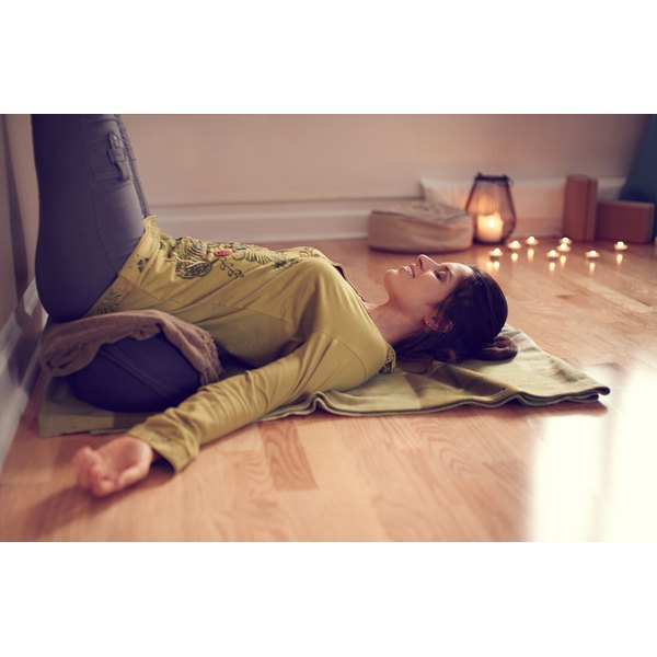 A Restorative yoga practice supports you with props.