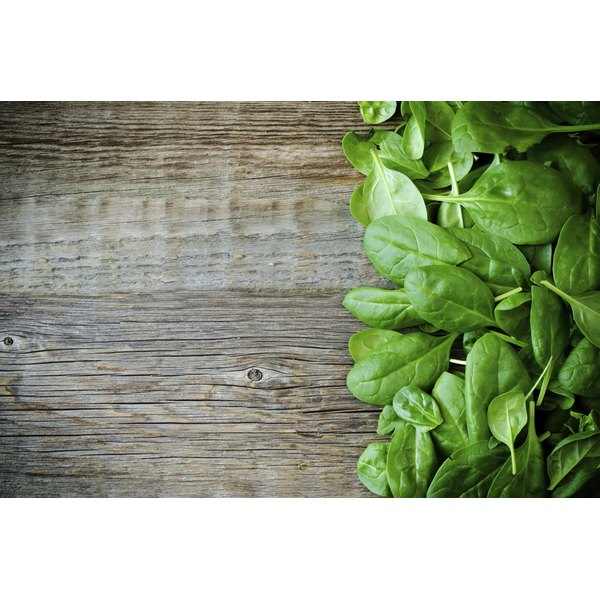 Limit green, leafy vegetables if you're on a low vitamin K diet.