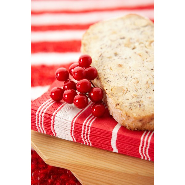 Sweeten and flavor quick breads using fruit purees.