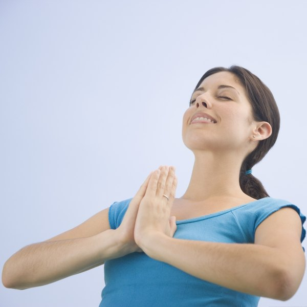 The practice of yoga itself and the mindset it induces that are helpful in losing tummy fat.