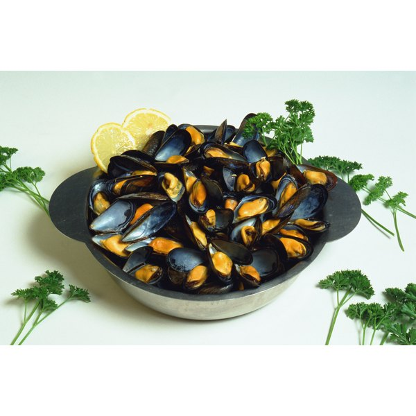 Mussels contain zinc needed to heal wounds and maintain proper immune function.
