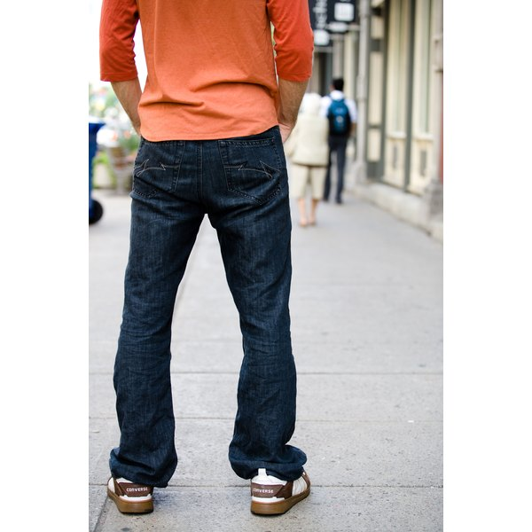 Back pockets can create the look of a flatter backside.